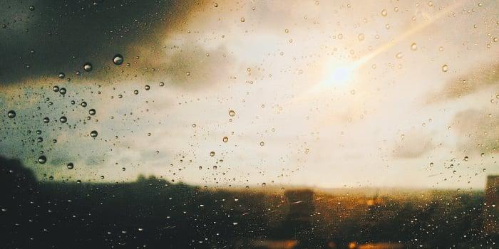 rain sun
